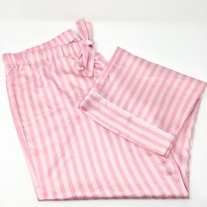 Victoria's Secret Satin Striped Pajama Pant